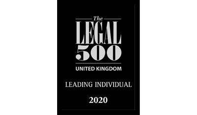 The Legal 500 Leading Individual 2020 logo