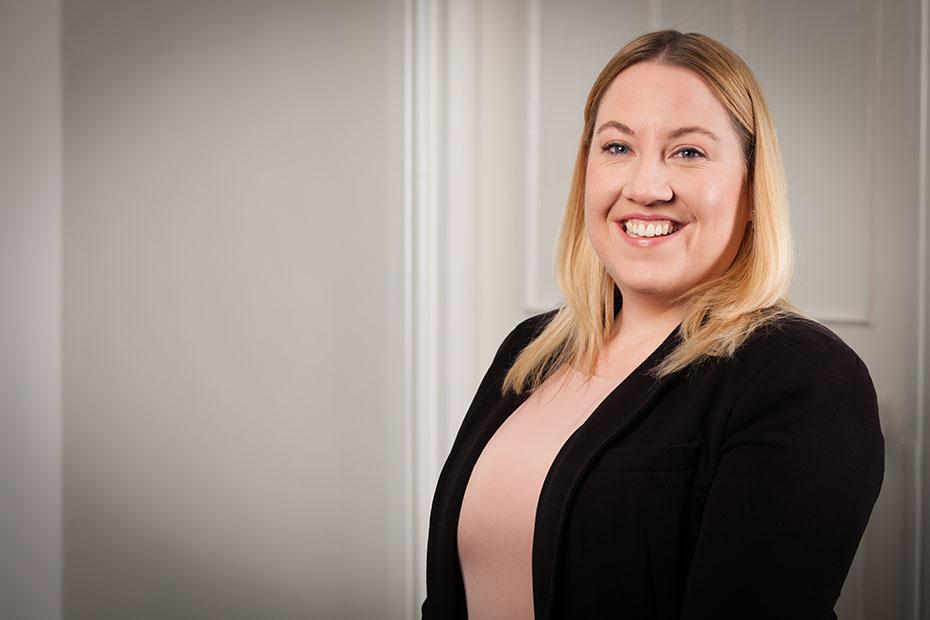 an image of Abbie Pownall, a Butcher & Barlow LLP employee