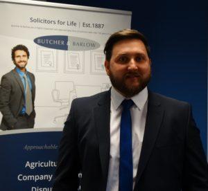 a photo of Nicholas Ball, a Butcher & Barlow employee